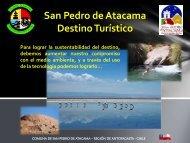 San Pedro de Atacama Destino Turístico SUSTENTABILIDAD ...