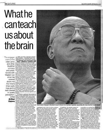 Time HES Dalai Lama - Arthur Zajonc