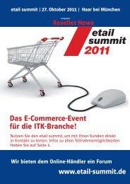 Etail Summit 2011 4 Seiter DIN A4 af pdf - Funkschau