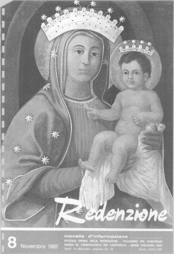 1981 - 08 - Ex Allievi di Padre Arturo D'Onofrio