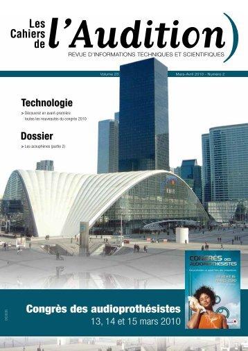 Télécharger le PDF complet N°2 Année 2010 - Collège National d ...