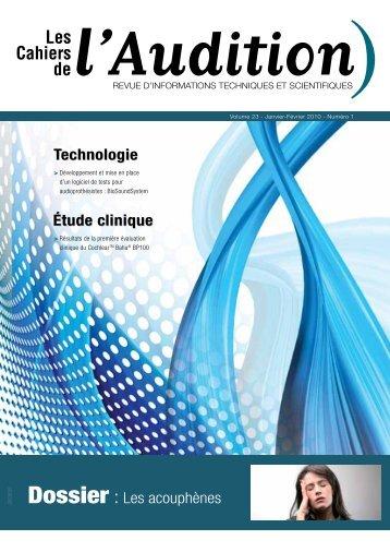 Télécharger le PDF complet N°1 Année 2010 - Collège National d ...