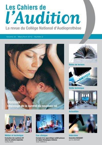 Télécharger le PDF complet N°2 Année 2012 - Collège National d ...