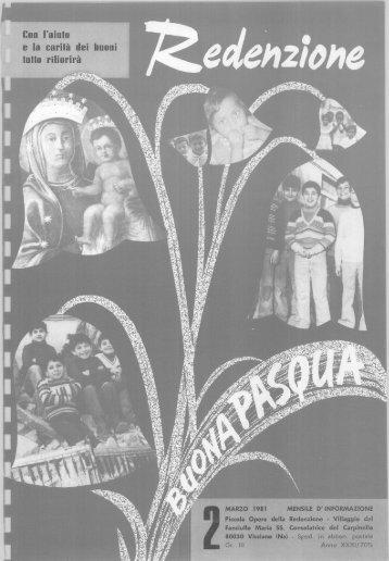 1981 - 02 - Ex Allievi di Padre Arturo D'Onofrio