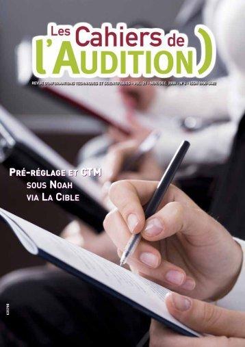 Télécharger le PDF complet N°6 Année 2008 - Collège National d ...