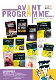 MAI / JUIN / JUILLET 2012 - Le Petit Livre de