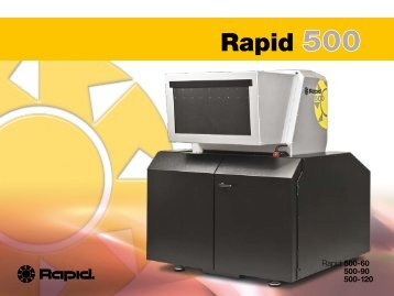 series - Rapid Granulator