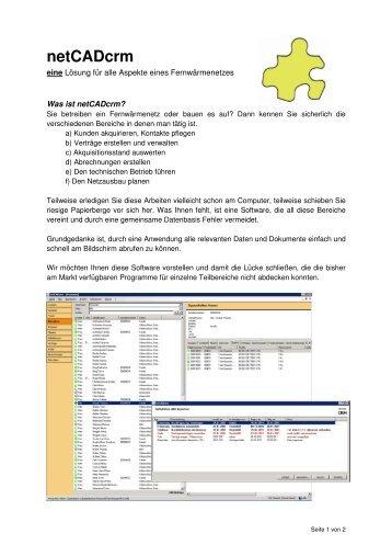 netCADcrm - netCADservice GmbH