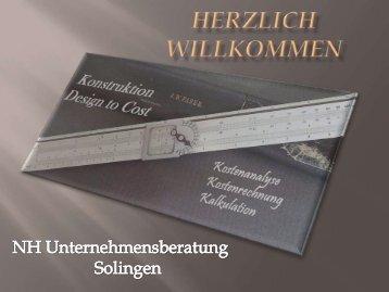 Herzlich willkommen - nhu-kostenanalyse.de