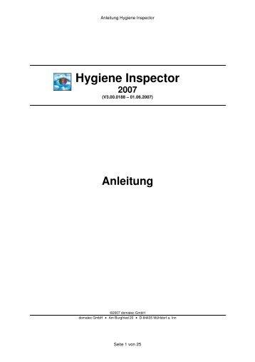 Hygiene Inspector 2007 - netCADservice GmbH