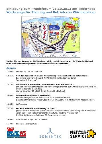 Einladung zum Praxisforum 25.10.2012 am Tegernsee Werkzeuge für ...