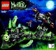 Lego The Ghost Train 9467 - The Ghost Train 9467 Bi 3017 / 28 - 65g, 9467 V29 2/2 - 1