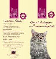 Real Nature Infofolder Katzennahrung