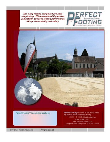 Perfect Footing Brochure - ProEquus