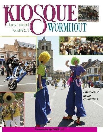 Kiosque d'octobre 2011 - Office municipal de tourisme de Wormhout