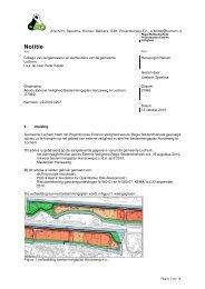 Bijlage 6 Advies externe veiligheid - Gemeente Lochem