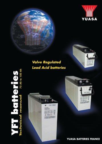 YFT batteries - Yuasa