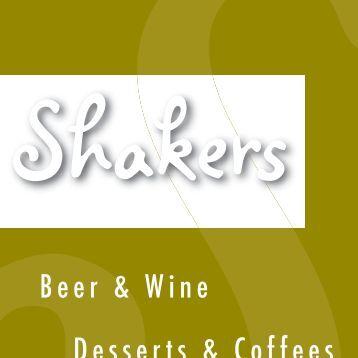 Beer and Wine - San Gabriel Valley Menus
