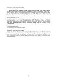 Výzva na predloženie ponúk - Telekomunikačný úrad SR