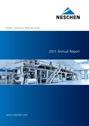 2011 Annual Report - Neschen