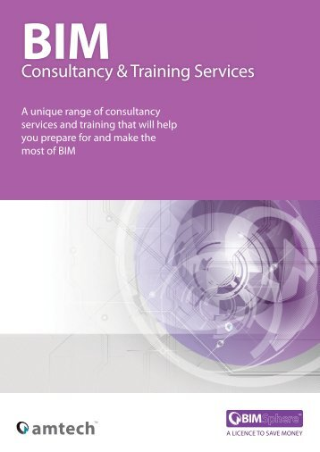 Download our BIM Consultancy Guide - Amtech