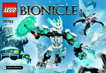 Lego Protector of Ice 70782 - Protector Of Ice 70782 Bi 3010/32- 70782 V39 - 2