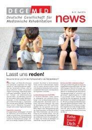 DEGEMED News 51 April 2015