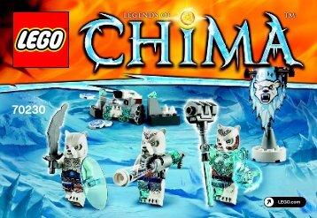 Lego Ice Bear Tribe Pack 70230 - Ice Bear Tribe Pack 70230 Bi 3001/32 - 70230 V39 - 2
