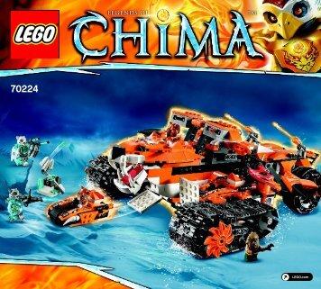 Lego Tiger's Mobile Command 70224 - Tiger's Mobile Command 70224 Bi 3017/152+4/65+200g - 70224 V29 - 1