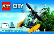 Lego Crooks' Hideout 60068 - Crooks' Hideout 60068 Bi 3004/40 -60068 V39 4/4 - 4