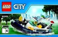 Lego Swamp Police Station 60069 - Swamp Police Station 60069 Bi 3004/32 - 60069 V39 6/6 - 2