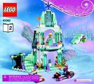 Lego Elsa's Sparkling Ice Castle 41062 - Elsa's Sparkling Ice Castle 41062 Bi 3017 / 32 - 65g - 41062 Book 2 V39 - 2