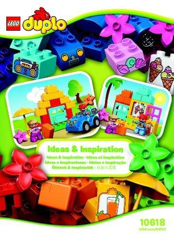 Lego LEGO® DUPLO® Creative Building Box 10618 - Lego® Duplo® Creative Building Box 10618 Bi 3022/8-65 Inspi Leaflet 10618 V29 - 1