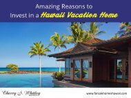 Real Estate Agent and Consultant in Hawaii