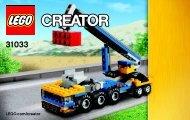 Lego Vehicle Transporter 31033 - Vehicle Transporter 31033 Bi 3004/48 - 31033 V39 2/3 - 2