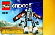 Lego Future flyers 31034 - Future Flyers 31034 Bi 3004 / 60+4 / 65+115g 31034 V39 1/3 - 2