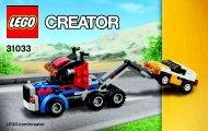 Lego Vehicle Transporter 31033 - Vehicle Transporter 31033 Bi 3004/40 - 31033 V29 3/3 - 1