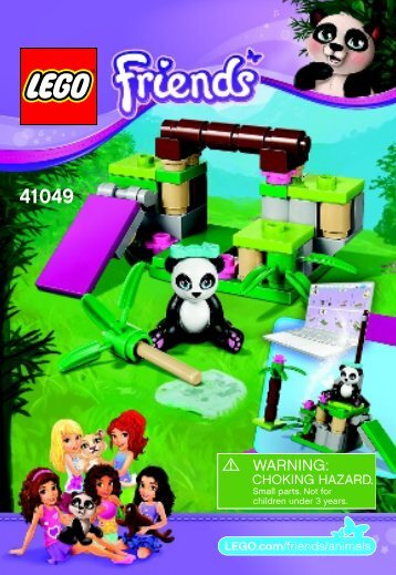 Lego Panda's Bamboo 41049 - Panda's Bamboo 41049 Bi 3001/20 - 41049 V39 - 2