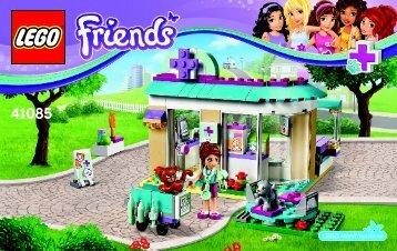 Lego Vet Clinic 41085 - Vet Clinic 41085 Bi 3004/64+4, 41085 V29 - 1