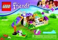 Lego Bunny & Babies 41087 - Bunny & Babies 41087 Bi 3001/16 - 41087 V39 - 2