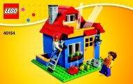 Lego Pencil Pot 40154 - Pencil Pot 40154 Bi 3003/36-40154 V46 - 1