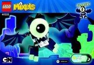 Lego Globert 41533 - Globert 41533 Bi 3001/24 - 41533 V39 - 2