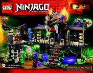 Lego Enter the Serpent 70749 - Enter The Serpent 70749 Bi 3016/76+4*- 70749 V39 - 2