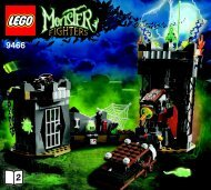 Lego The Crazy Scientist & His Monster 9466 - The Crazy Scientist & His Monster 9466 Bi 3017 / 60+4 - 65/115g, 9466 V29 2/2 - 3