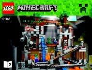Lego The Mine 21118 - The Mine 21118 Bi 3019/52-65g, 21118 Book 2/2 V39 - 2