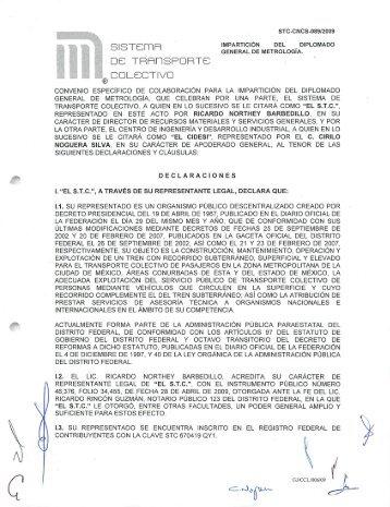 GENERAL DE METROLOGÍA. - Gobierno del Distrito Federal