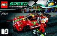 Lego 458 Italia GT2 75908 - 458 Italia Gt2 75908 Bi 3003/28-75908 V39 2/2 - 2