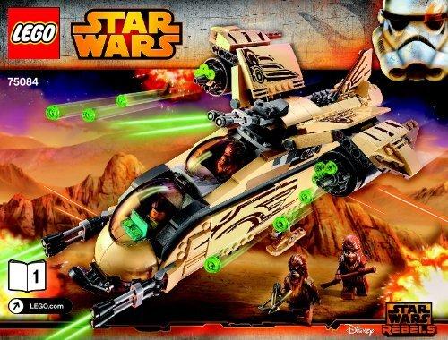Lego Wookiee™ Gunship 75084 - Wookiee™ Gunship 75084 Bi 3019/56-65g 75084 V29 1/2 - 3