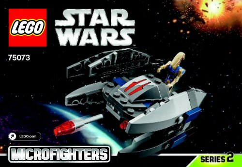 Lego Vulture Droid™ 75073 - Vulture Droid™ 75073 Bi 3001/32 - 75073 V39 - 2