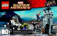 Lego The Hydra Fortress Smash 76041 - The Hydra Fortress Smash 76041 Bi 3004 60/ 76041 V39 1/2 - 2